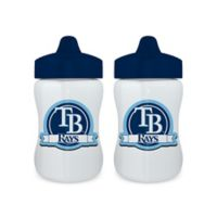 Baby Fanatic® NFL Tampa Bay Buccaneers 9 oz. Sippy Cups in Blue/White (Set of 2)