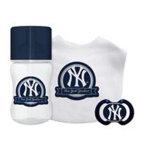 Baby Fanatic® New York Yankees 3-Piece Gift Set