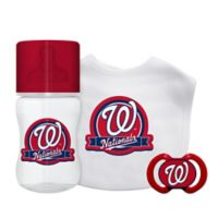 Baby Fanatic® Washington Nationals 3-Piece Gift Set