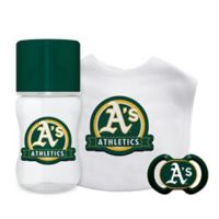 Baby Fanatic® Oakland Athletics 3-Piece Gift Set