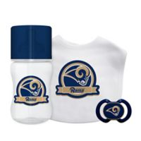 Baby Fanatic® NFL Los Angeles Rams 3-Piece Gift Set in Yellow