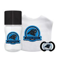 Baby Fanatic® NFL Carolina Panthers 3-Piece Gift Set in Black/Blue