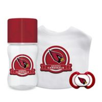 Baby Fanatic® NFL Arizona Cardinals 3-Piece Gift Set in Red/Black