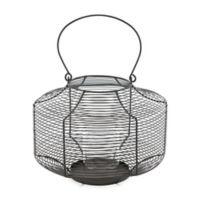 Zuo® Spiral Lantern in Black