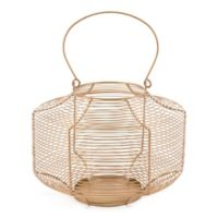 Zuo® Spiral Lantern in Gold