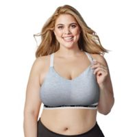 Bravado Designs Large Original Full Cup Nursing Bra in Heather Grey