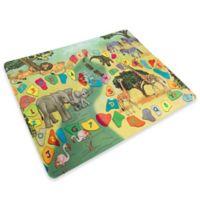 Hey! Play! Safari Animal Foam Baby Play Mat