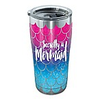 "Tervis® SIC® ""Secretly a Mermaid"" 20-oz. Stainless Steel Tumbler with Lid"