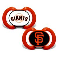 Baby Fanatic® Gen. 3000 MLB San Francisco Giants 2-Pack Pacifiers