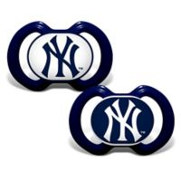 Baby Fanatic® Gen. 3000 MLB New York Yankees 2-Pack Pacifiers