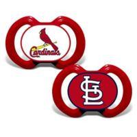 Baby Fanatic® Gen. 3000 MLB St. Louis Cardinals 2-Pack Pacifiers