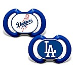 Baby Fanatic® Gen. 3000 MLB Los Angeles Dodgers 2-Pack Pacifiers