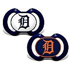 Baby Fanatic® Gen. 3000 MLB Detroit Tigers 2-Pack Pacifiers