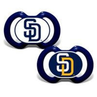 Baby Fanatic® Gen. 3000 MLB San Diego Padres 2-Pack Pacifiers