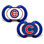 Baby Fanatic® Gen. 3000 MLB Chicago Cubs 2-Pack Pacifiers
