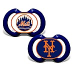 Baby Fanatic® Gen. 3000 MLB New York Mets 2-Pack Pacifiers