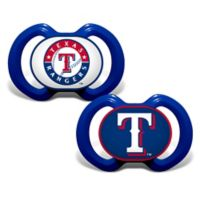 Baby Fanatic® Gen. 3000 MLB Texas Rangers 2-Pack Pacifiers