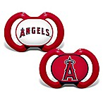 Baby Fanatic® Gen. 3000 MLB Los Angeles Angels 2-Pack Pacifiers