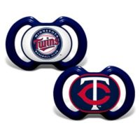 Baby Fanatic® Gen. 3000 MLB Minnesota Twins 2-Pack Pacifiers
