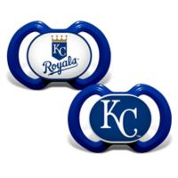 Baby Fanatic® Gen. 3000 MLB Kansas City Royals 2-Pack Pacifiers
