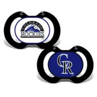 Baby Fanatic® Gen. 3000 MLB Colorado Rockies 2-Pack Pacifiers