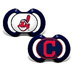 Baby Fanatic® Gen. 3000 MLB Cleveland Indians 2-Pack Pacifiers