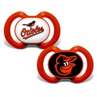 Baby Fanatic® Gen. 3000 MLB Baltimore Orioles 2-Pack Pacifiers