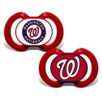 Baby Fanatic® Gen. 3000 MLB Washington Nationals 2-Pack Pacifiers
