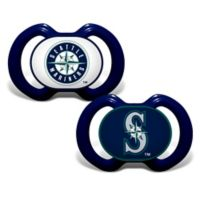 Baby Fanatic® Gen. 3000 MLB Seattle Mariners 2-Pack Pacifiers