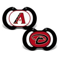 Baby Fanatic® Gen. 3000 MLB Arizona Diamondbacks 2-Pack Pacifiers