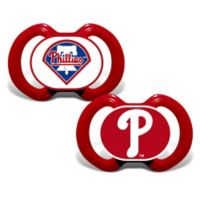 Baby Fanatic® Gen. 3000 MLB Philadelphia Phillies 2-Pack Pacifiers