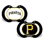 Baby Fanatic® Gen. 3000 MLB Pittsburgh Pirates 2-Pack Pacifiers
