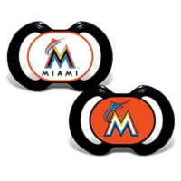 Baby Fanatic® Gen. 3000 MLB Miami Marlins 2-Pack Pacifiers