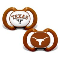Baby Fanatic® Gen. 3000 University of Texas 2-Pack Pacifiers