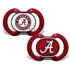 Baby Fanatic® Gen. 3000 University of Alabama 2-Pack Pacifiers