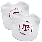 Baby Fanatic® Texas A&M 2-Pack Bibs