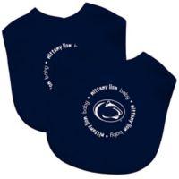 Baby Fanatic Penn State 2-Pack Bibs