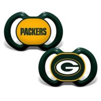 Baby Fanatic® Gen. 3000 NFL Green Bay Packers 2-Pack Pacifiers