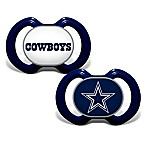 Baby Fanatic® Gen. 3000 NFL Dallas Cowboys 2-Pack Pacifiers