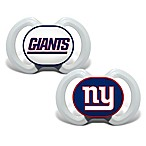 Baby Fanatic® Gen. 3000 NFL New York Giants 2-Pack Pacifiers