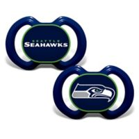 Baby Fanatic® Gen. 3000 NFL Seattle Seahawks 2-Pack Pacifiers
