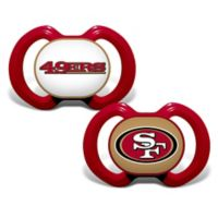 Baby Fanatic® Gen. 3000 NFL San Francisco 49ers 2-Pack Pacifiers