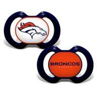 Baby Fanatic® Gen. 3000 NFL Denver Broncos 2-Pack Pacifiers