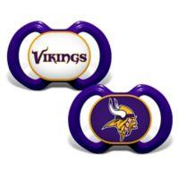 Baby Fanatic® Gen. 3000 NFL Minnesota Vikings 2-Pack Pacifiers