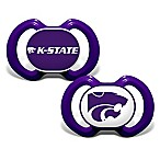 Baby Fanatic® Kansas State University 2-Pack Orthodontic Pacifiers in Purple