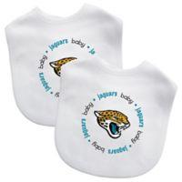 Baby Fanatic® NFL Jacksonville Jaguars 2-Pack Bibs in Black/Teal