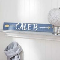 Tribal Inspired Name Wooden Sign For Him