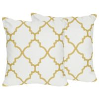 Sweet Jojo Designs Ava Throw Pillows (Set of 2)