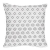 Sweet Jojo Designs Feather Tribal Geometric Print Throw Pillows (Set of 2)