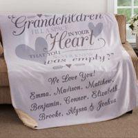 Grandparents 50-Inch x 60-Inch Premium Sherpa Throw Blanket